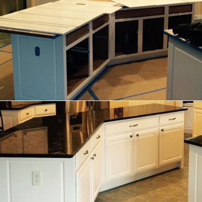 Ace Painting of Akron LLC Before  & After